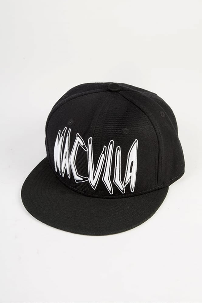 Haculla Punk Work Snapback Black