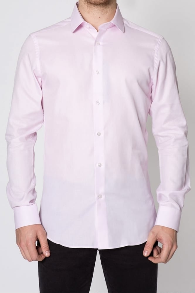 Remus Uomo Lucas Slim Fit Shirt Light Pink