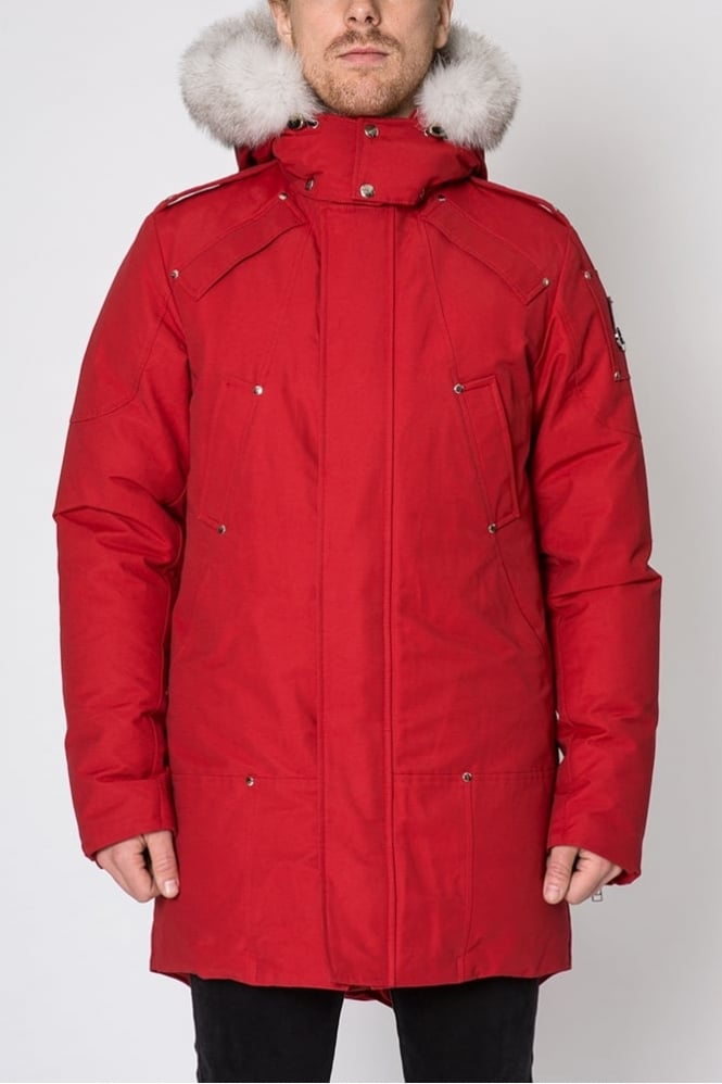 Moose Knuckles Stirling Parka Red