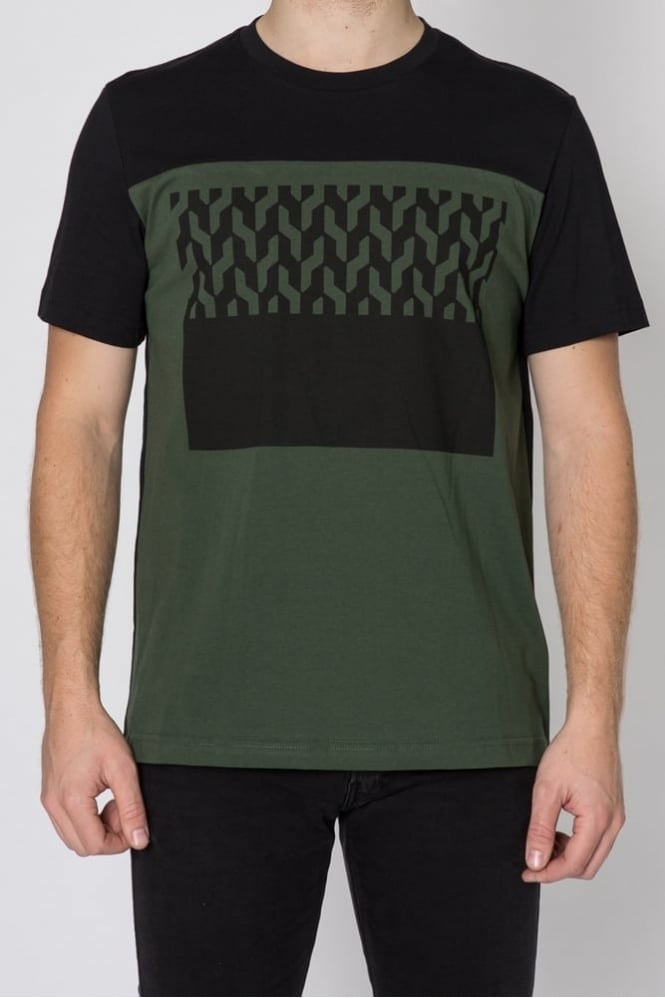 Markus Lupfer Cable And Square Chris T-Shirt Black