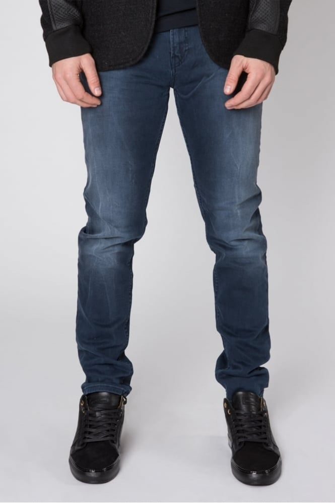 Scotch & Soda Skim Concrete Blues Jeans Dark Blue