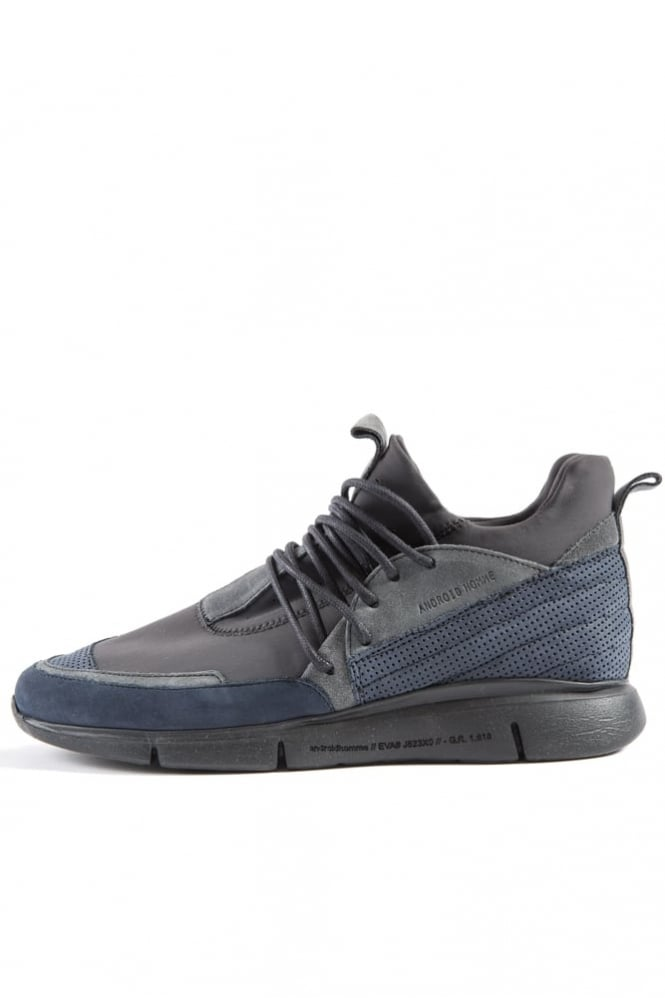 Android Homme Runyon 316 Charcoal Trainers Navy/Black