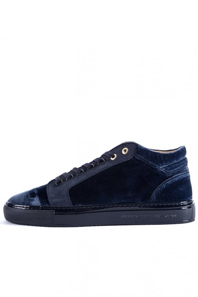 Android Homme Propulsion Mid Velvet Trainers Navy