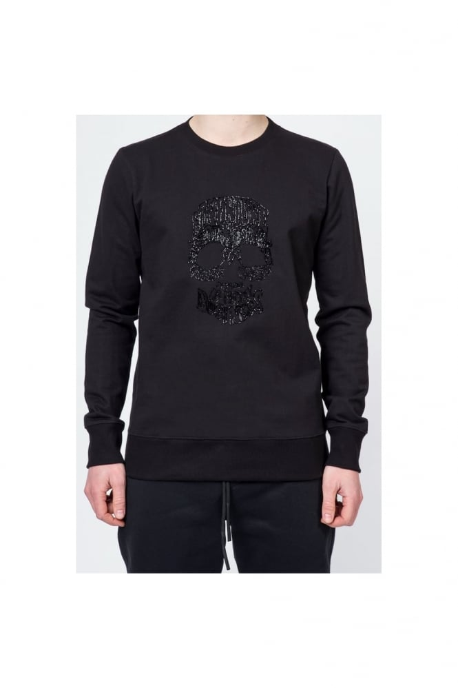 Markus Lupfer Skull Adventure Sweatshirt Black