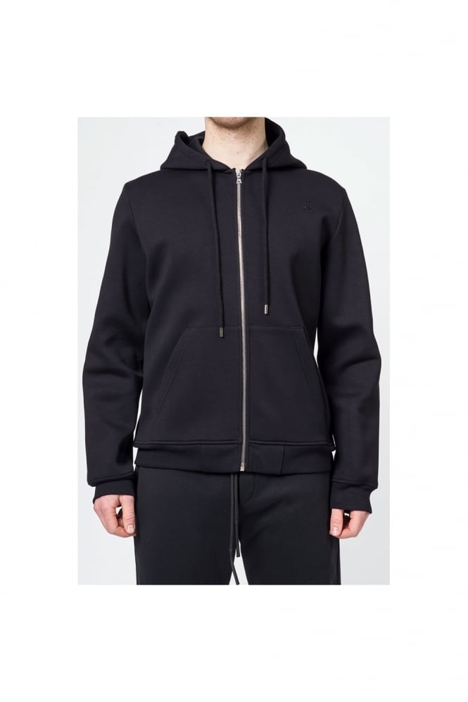 Markus Lupfer Skulls Zip Up Karl Hoodie Black