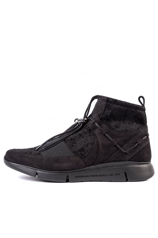 Android Homme Runyon Neoprene Mid Trainers Black