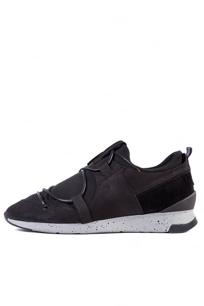 H by Hudson Brodie Nubuck Sneakers Black