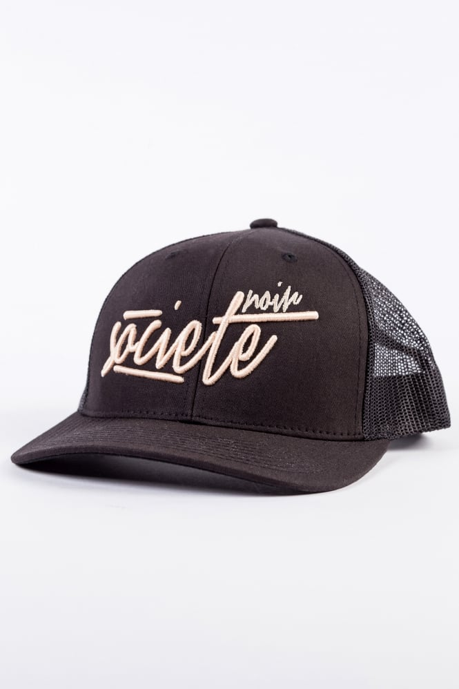 Societe Noir Signature Scribble Black/Rosegold