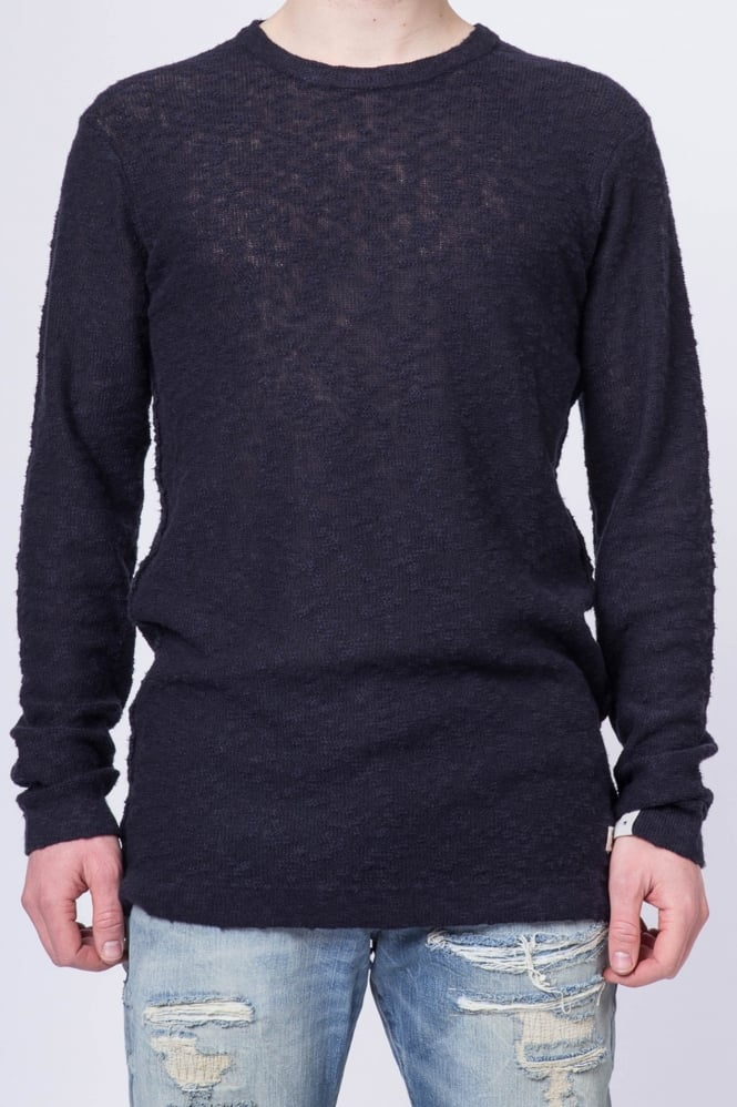 Scotch & Soda Crew Neck Pullover Jumper Navy
