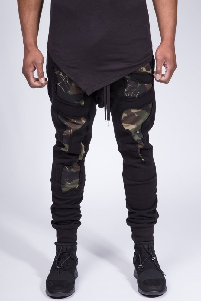 Haculla Militant Sweatpants Black