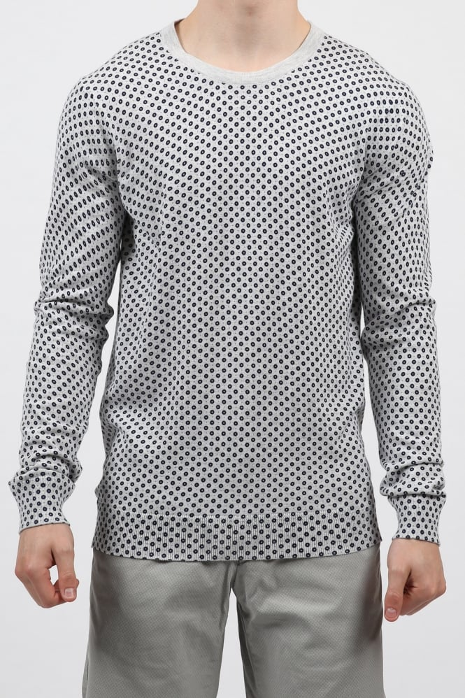 Scotch & Soda Classic Crew Neck Pullover Grey