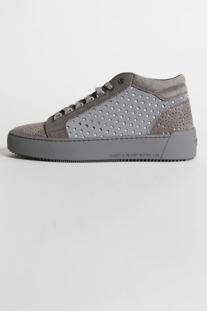 Android Homme Propulsion Mid 3M Perf Trainers Silver