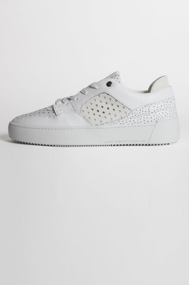 Android Homme Omega 3M Perf Trainers White