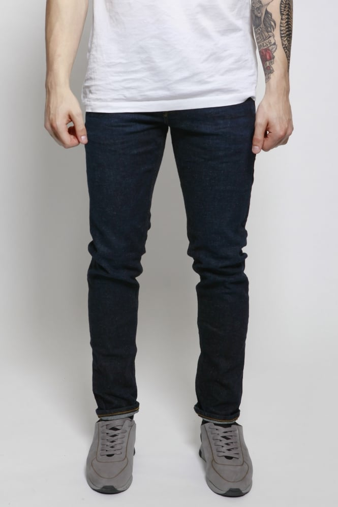 Scotch & Soda Tye Do Not Disturb Slim Carrot Fit Jeans Blue