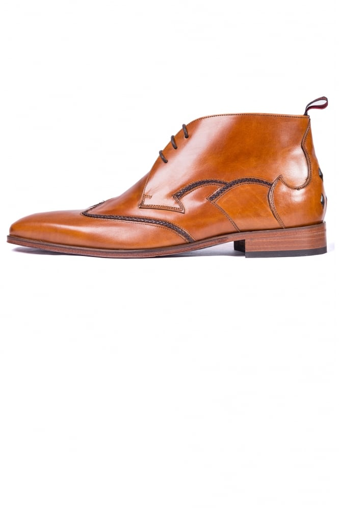 Jeffery West Chukka Ankle Boots Tan