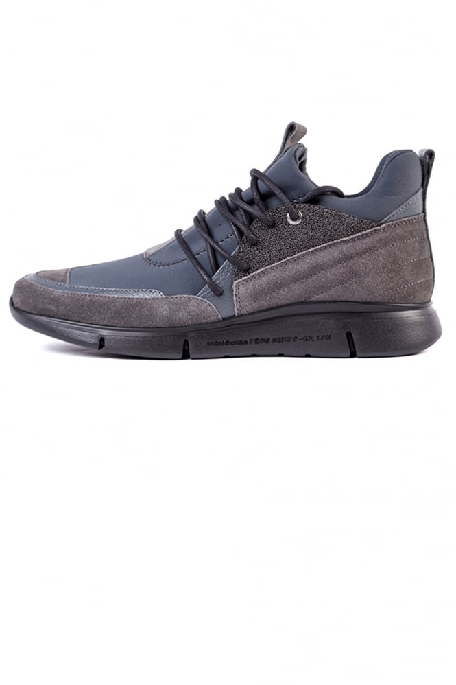 Android Homme Runyon Neoprene Detail Trainer Grey