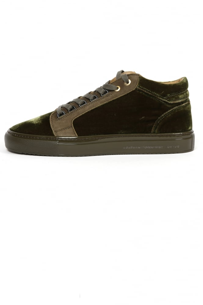Android Homme Propulsion Velvet Trainers Green