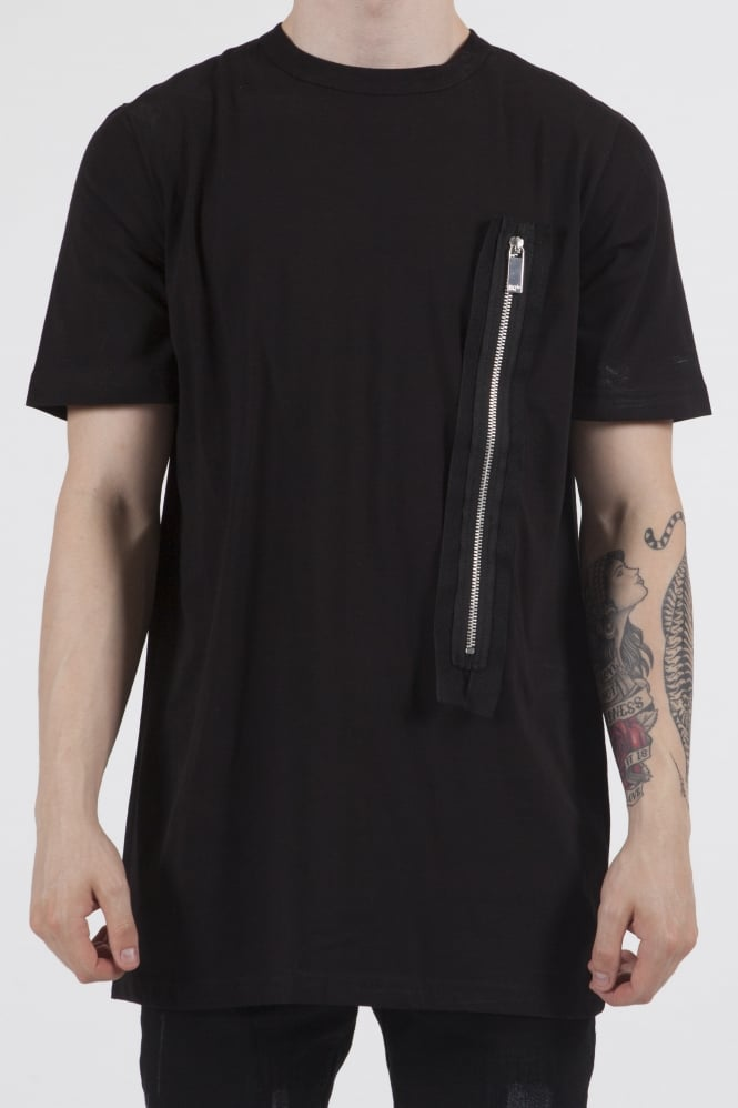 Blood Brother Warner Longline T-Shirt Black
