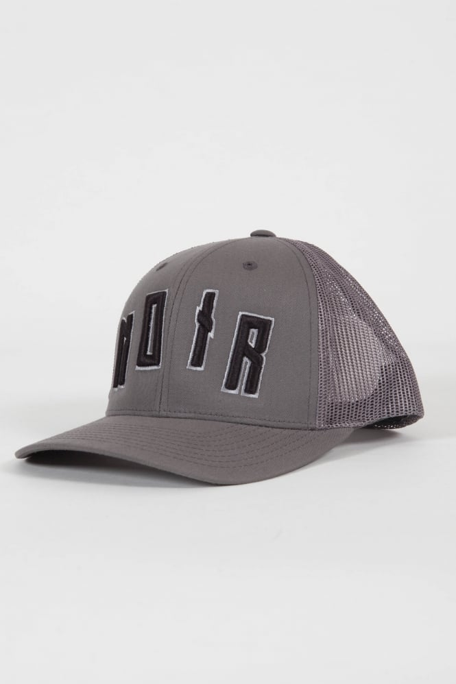 Societe Noir Iconic Noir Trucker Hat Grey/Black