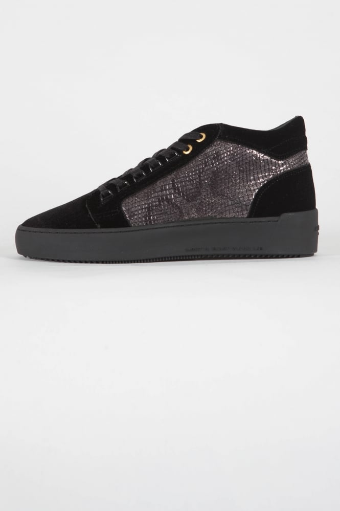 Android Homme Propulsion Mid Python Trainers Black