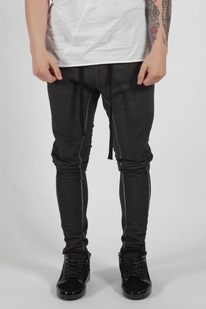 Thom Krom Drop Crotch Sweatpants Charcoal