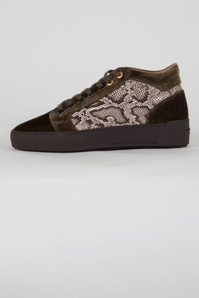 Android Homme Propulsion Mid Python Trainers Khaki