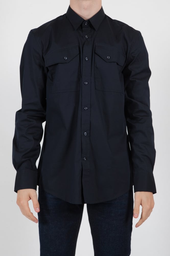 Antony Morato Pocket Detail Shirt Navy