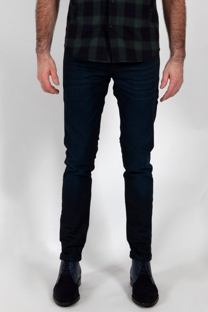 Scotch & Soda Tye Plus Slim Carrot Fit Jeans Dark Blue