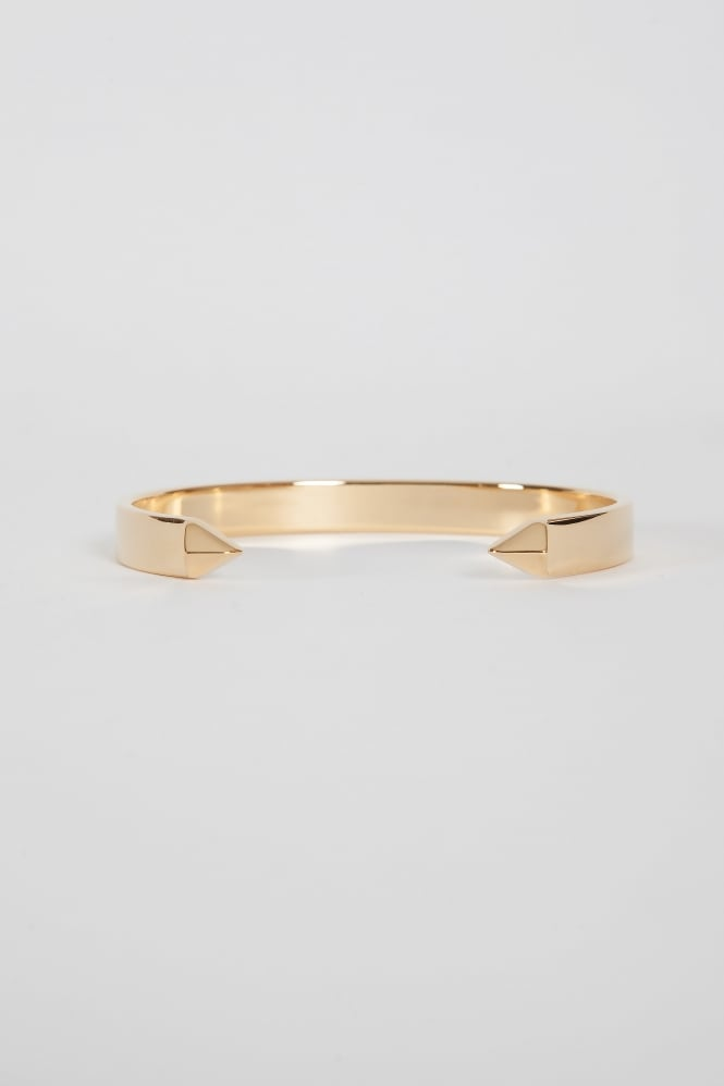 Northskull The End Cuff Bracelet Gold
