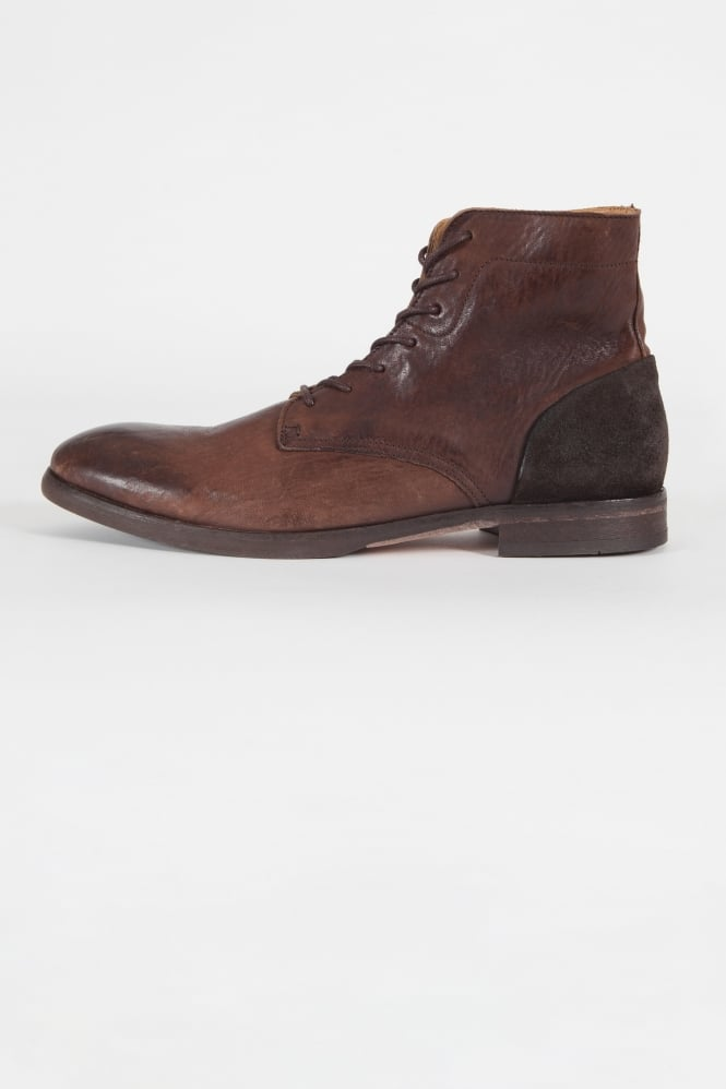 Hudson London Yoakley Lace Up Boots Brown