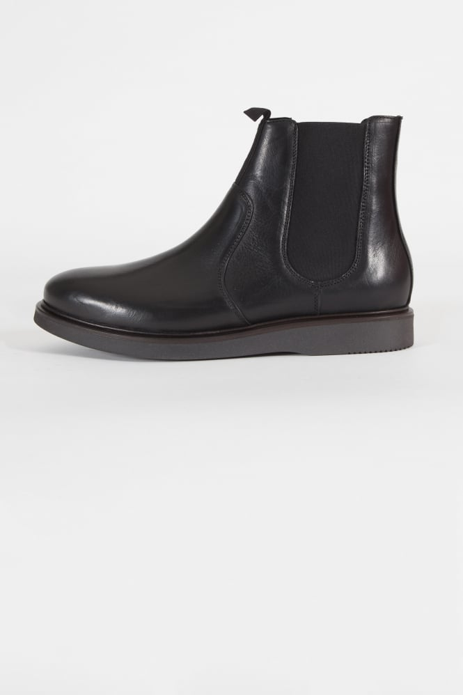 Hudson London Brooksby Chelsea Boots Black