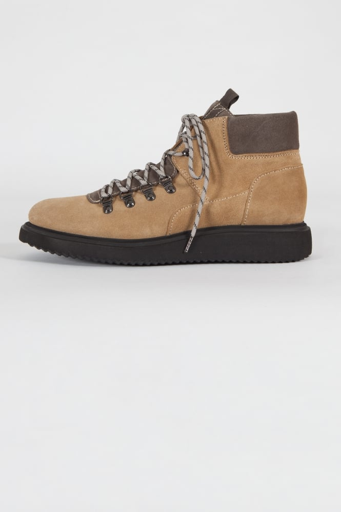 Hudson London Stange Hiking Boots Sand