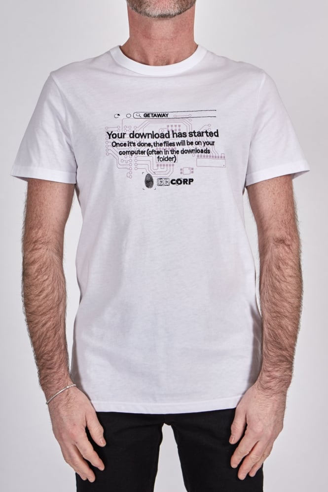 Blood Brother Corp T-Shirt White