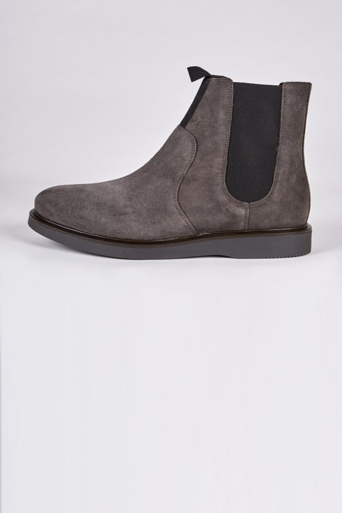 Hudson London Brooksby Chelsea Boots Dark Grey