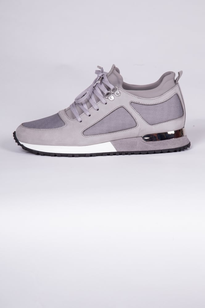 Mallet Footwear Diver Runner Trainers Grey