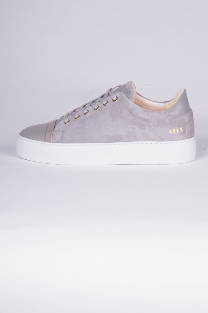Nubikk Jagger Joe Suede Trainers Grey