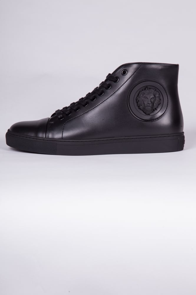 Versus Versace Lion Head High-Top Trainers Black