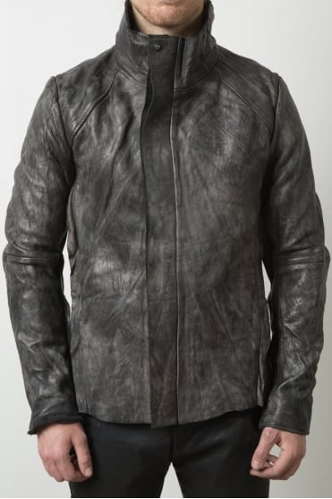 Vaskr Leather Grey