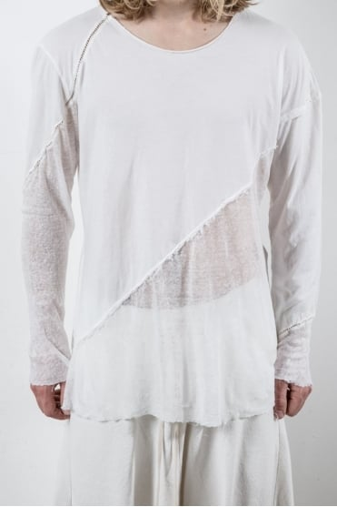 Kinta Long Sleeve T-Shirt Off White