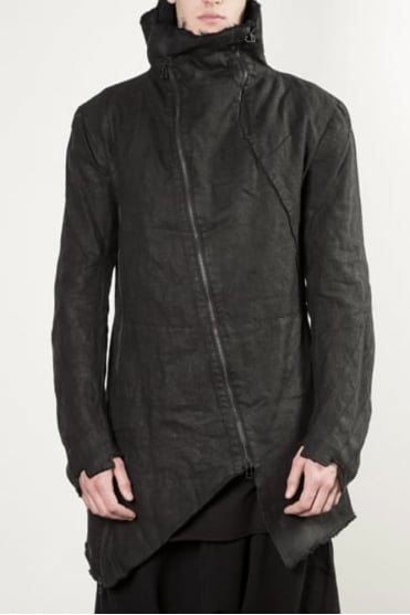 Methaur Linen Jacket Black
