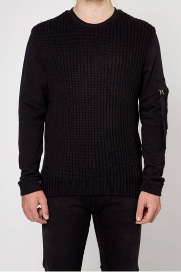 Tensile Knitted Sweater Black