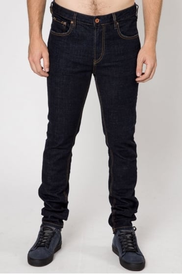 Skim Touchdown Stretch Jeans Blue
