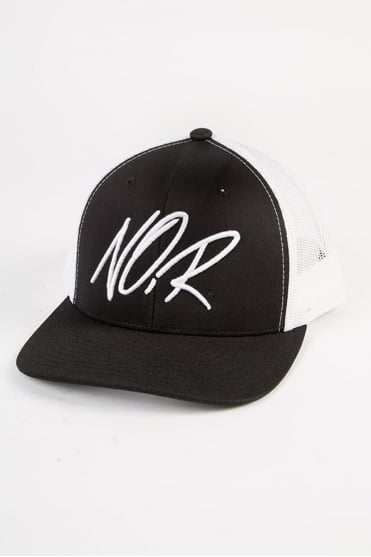 Scribbler Trucker Cap Black/White