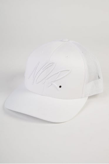 Scribbler Trucker Cap White
