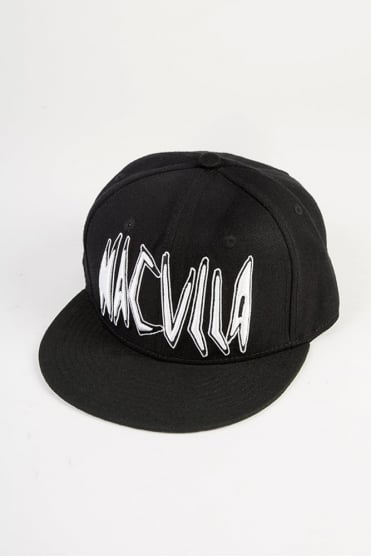 Punk Work Snapback Black
