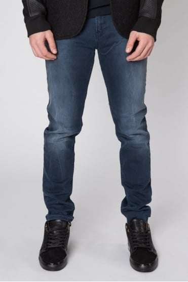 Skim Concrete Blues Jeans Dark Blue