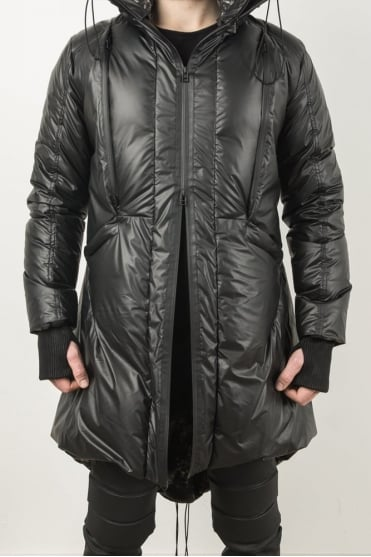 Glacial Down Coat Black