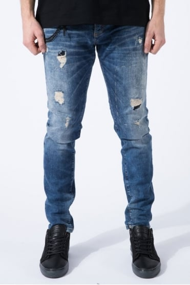 Jimmy Carrot Fit Jeans Blue