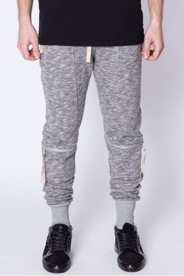 Camber Zip Detail Sweatpants Grey