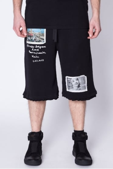 Souvenir Baggy Shorts Black